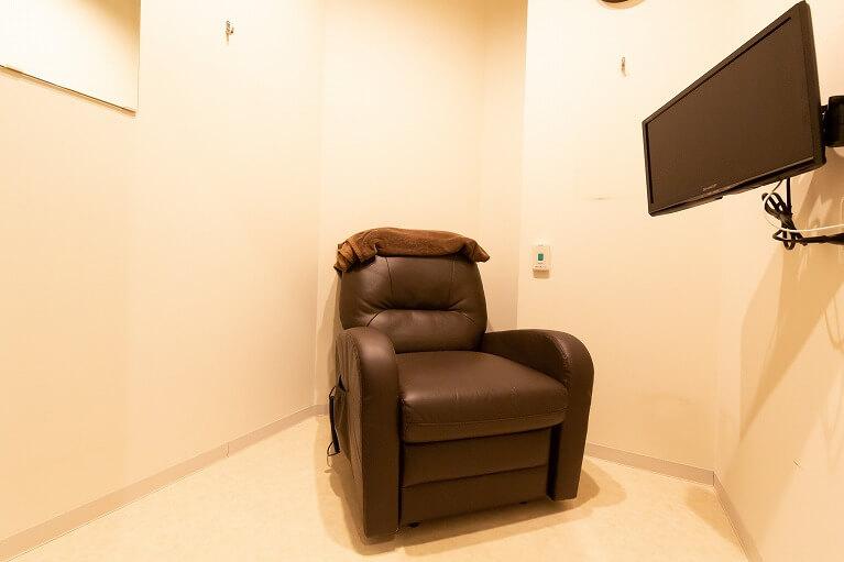 個室でリラックスしてお過ごしいただけます
